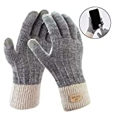 Fascigirl Handschuhe Damen Winterhandschuhe Touchscreen Handschuhe Fingerhandschuhe Sport Warme Windstopper