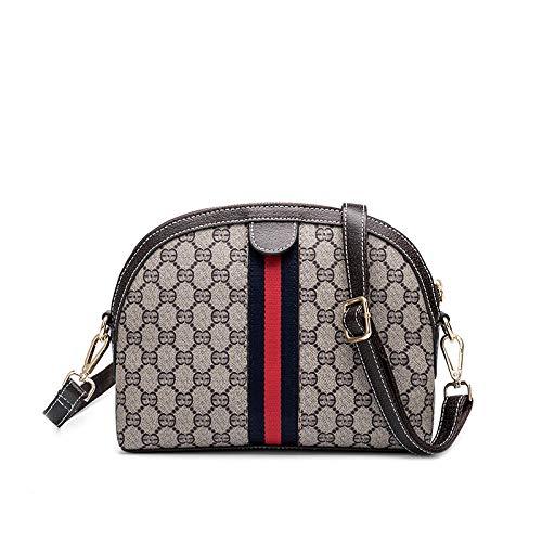 Longchamp dames handtas Mujerwild Shell Bag met patroon Atmosphere schoudertas omhangtas