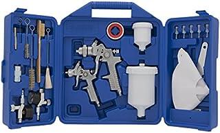 Campbell Hausfeld CHK005CCAV Gravity Feed Case Spray Gun Kit, Blue