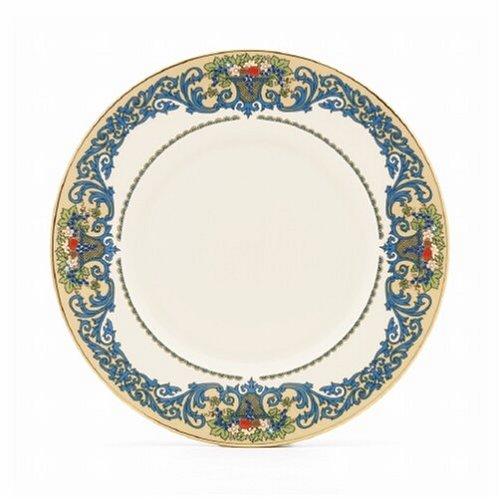 Lenox Otoño gold-banded de porcelana fina 5piezas del Lugar vajilla de mesa de porcelana, otoño (Autumn), de Lenox Accent Plate marfil