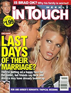 In Touch Weekly Magazine: Jessica Simpson & Nick Lachey (May 2, 2005)