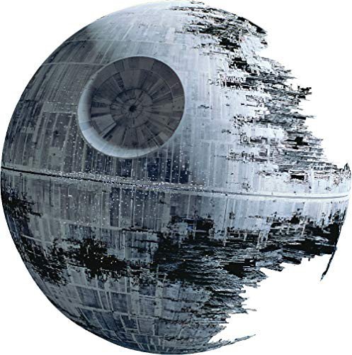Death Star Wars Sticker for The Home - Star Wars Death Star Wall Decal Mural Dorm Decor Wall Stickers Bedroom Apartment, a87