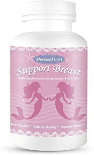 M.U Natural Breast Enhancement Pills Support Breasts Health Lift Firm Healthy Supplement Natural and Green Herb to PRO For...