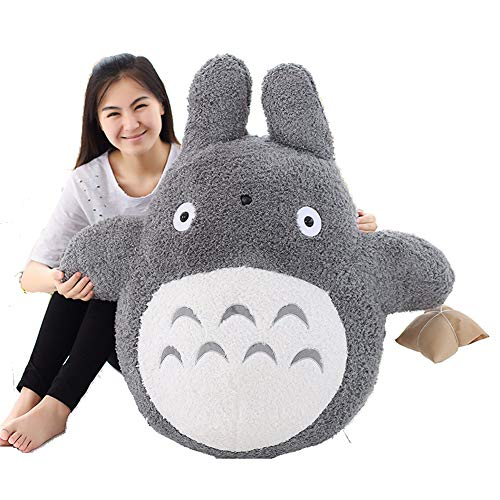 Xnhgfa My Neighbor Cartoon Totoro Plush Doll Animals Soft Toy Doll Cute Pillow Cushion Perfect for Children Valentine Birthday Gifts,60cm