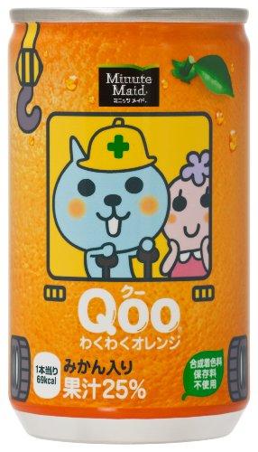 コカコーラ クー わくわくオレンジ 缶 160mL×30本入