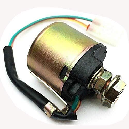 Price comparison product image Cyleto Starter Solenoid Relay for HONDA TRX200 TRX 350 TRX400 TRX450 TRX450R TRX450ES TRX500 TRX650 TRX680 FOURTRAX FOREMAN RUBICON RANCHER (Check the Detail Compatibility In Description)