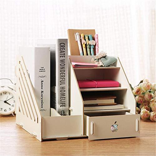 escritorio de madera de la marca ZJH