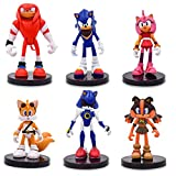 Figures PVC Sonic Rose Sticks Tails Shadow Amy Characters Action Figure Sonic The Hedgehog Toys Sonic Boom Action Figures