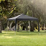 Best Choice Products Outdoor Portable Adjustable Instant Pop Up Gazebo Canopy Tent w/Carrying Bag, 10x10ft - Black