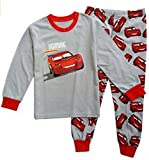 Babygp 'red car Boys 2 Piece Pajama 100% Cotton(Size:2-7years) (5T, White red)