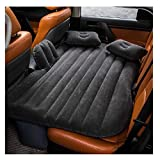 Robust and durable - the offered car suv air bed is made of high quality pvc, sleek black flocked material to it feels like soft feather durable and tear resistant fabric to transforms your car back seat into a comfortable and luxurious bed Multifunc...