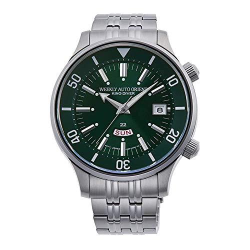 Reloj Orient Sports RA-AA0D03E1HB - Analógico Automático para Hombre en Acero Inoxidable