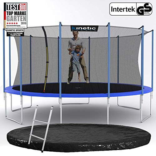 Kinetic Sports Gartentrampolin – ø 488 cm