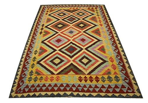 Tela-Teppich Alfombra nomaden Kelim Afghan Kilim Old Style 1