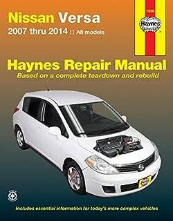 Nissan Versa 2007 thru 2014 All models (Haynes Repair Manual) by Editors of Haynes Manuals (2014) Paperback
