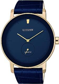 Citizen Men's Quartz Be9183 03L Leather Japanese Dress Watch