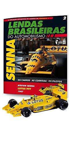 Lotus 99T. Ayrton Senna - Lendas Brasileiras do Automonilismo. 2