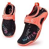 Crova Kids Water Sports Shoes Totally Drainage Quick-Dry Aqua Socks Barefoot Slip-on