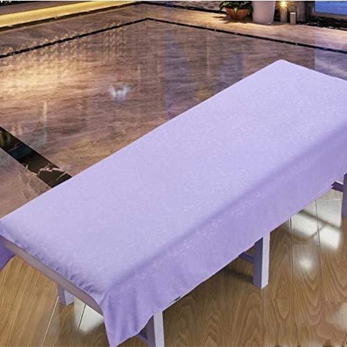 DXTY Massageliege Bezug Laken Anti-Slip Zu Beauty Salon Spa Weich Beauty-bettlaken Leicht Massageliegen-bezug Massageliegenbezug B 75x190cm(30x75inch)