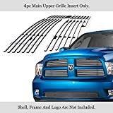 APS Compatible with 2009-2012 Ram 1500 Pickup Billet Grille Grill Insert D66613A