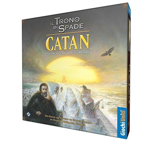 Giochi Uniti Games of Thrones Il Trono di Spade Catan-La Confraternita dei Guardiani, Multicolore, GU606