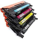 W2070a W2071a W2072a W2073a Compatible Cartucho de tóner Adecuada para HP Color Laser MFP MFP 178Nw 179Fnw Color Laser150a compatibilidad Fuerte, Clara impresión (con Chip),4 Piece Set
