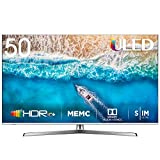 HISENSE H50U7BE TV Smart TV ULED Ultra HD 4K 50', Dolby Vision HDR, Dolby Atmos, Unibody Design, Ultra Dimming, Tuner DVB-T2/S2 HEVC Main10 [Esclusiva Amazon - 2019]