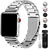 Fullmosa Kompatibel Apple Watch Armband 42mm(44mmSerie 5/4), Rostfreier Edelstahl Watch Ersatzband...