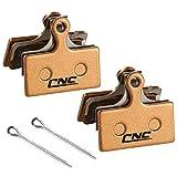 CNC Fahrrad bremsbeläge für Shimano G01S G02S G03S G02A, 2 Paar bremsbelag Organisch für Shimano XT XTR SLX Deore,Organisch