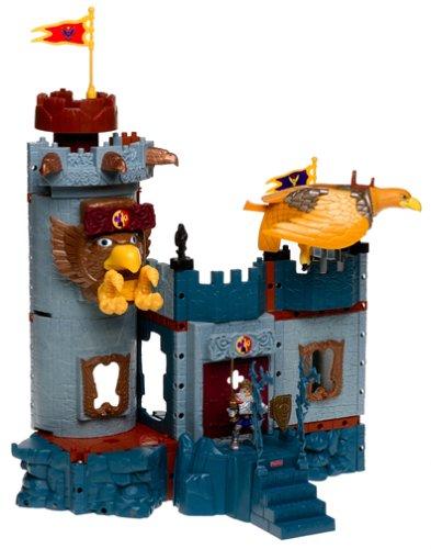 Mattel - Fisher Price B9774-0 Bravemoore Festung (mit Video)