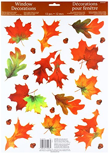 Autumn Breeze Vinyl Window Decoration