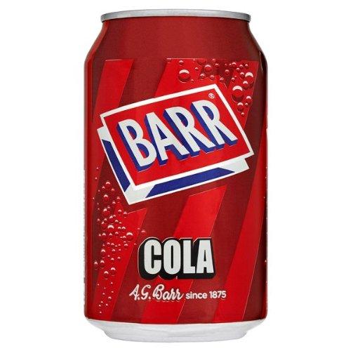 Barr Cola 330ml (Packung mit 24 x 330 ml)
