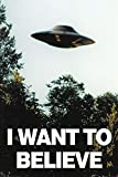X-Files - I Want to Believe - UFO - Filmposter Kino Movie