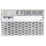 Danby DAC060EB6WDB 6,000 BTU Energy Star Window Air Conditioner, Programmable Timer, LED Display and Remote Control, Ideal for Rooms Up to 250 Square Feet, in White