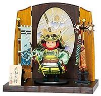 五月人形 豊久 伊達政宗 子供大将飾り 武者人形 平飾り 大和大将 伊達 h035-mo-503289 GE-066