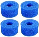 Denkmsd Esponja de filtro para Intex S1, reutilizable y lavable, filtro de espuma, esponja para filtro de piscina Intex tipo S1, filtro de espuma para piscina, acuario, spa (4 unidades)