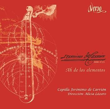Jerónimo de Carrión: Ah de los elementos
