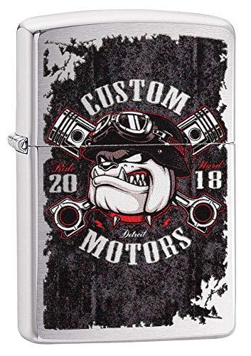 Zippo 60004103 Bull Dog Pistons Design
