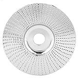 SALUTUYA Disco abrasivo para Amoladora Angular Muela abrasiva Amoladora Disco de conformación Orificio para Materiales no metálicos Diámetro Exterior de 100 mm Revestimiento de carburo de tungsteno