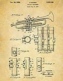 Trumpet patent print