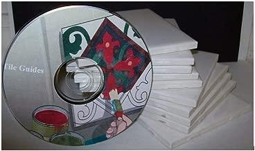 American Olean White Ceramic Tiles Package of 10 4 1/4