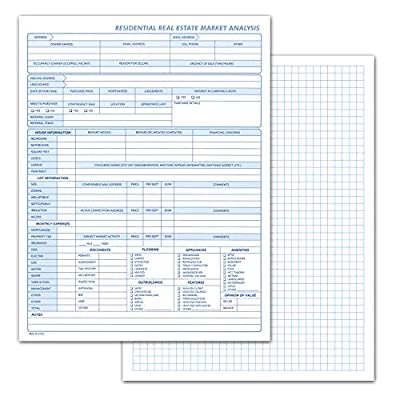 Residential Transaction and Grid Log Book, Solid Tool for Agents to Control Sales. Inspections, Reports, Contracts and Real Estate Management