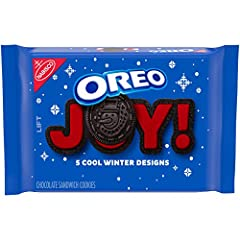 This package contains 1 pack of OREO Double Stuf Winter Chocolate Sandwich Cookies. This 20 oz pack of OREO Double Stuf Winter Cookies is filled with red-colored creme and comes in 1 of 2 holiday-inspired package designs. (Packaging may vary.) Nothin...