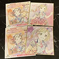 BanG Dream ガールズバンドパーティAni-Art トレーディングミニ色紙 Poppin'Party ver. 市ヶ谷有咲バンドリ