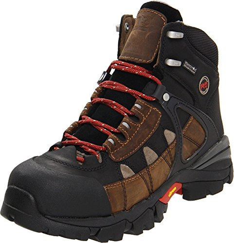 Timberland PRO Men's Hyperion 6 inch XL Alloy Safety Toe Waterproof Industrial Shoe, Brown, 7