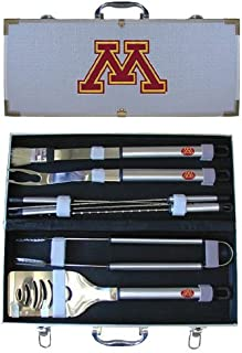 NCAA 8 Piece BBQ Set with Case