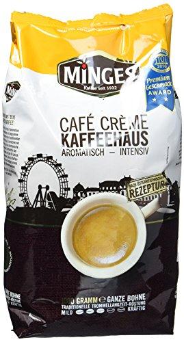 Minges Café Crème Kaffeehaus, 1er Pack (1 x 1 kg)