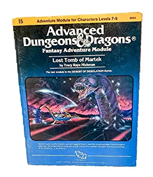 I5 Lost Tomb of Martek - Book  of the Advanced Dungeons and Dragons Module #C4