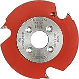 LAMELLO 132141 - Fresa de ranurar para Zeta P2 (100 x 7 x 22 mm)