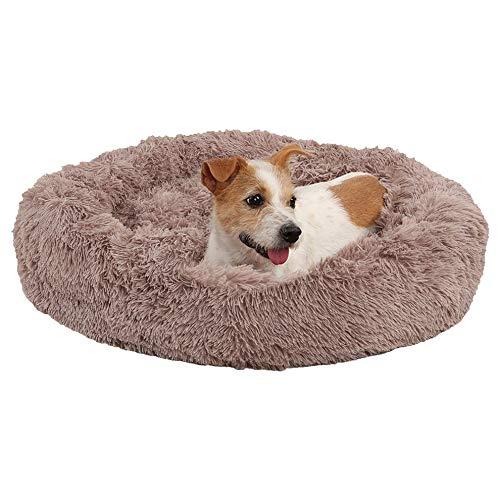 Cama de perro cómoda Donut Hug edredón redondo cama para mascotas super suave lavable perro y gato cama accesorios para mascotas